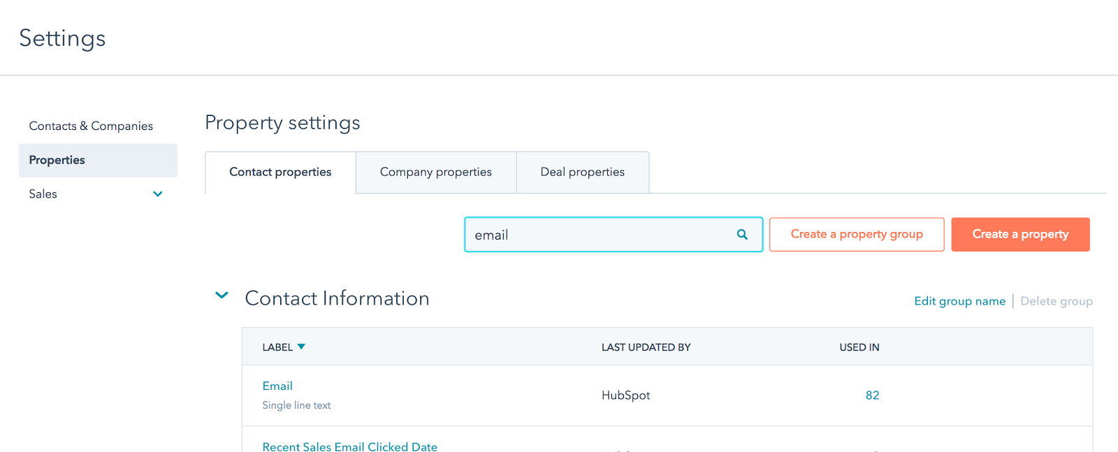 hubspot property settings 1